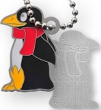 Penguin Traveler Tag