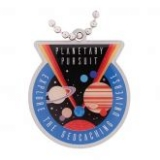 Anhänger Planetary Pursuit Travel Tag