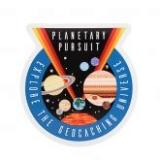 Aufkleber Planetary Pursuit