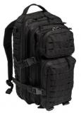 "Rucksack ""US Assault Pack Laser Cut"", groß, schwarz"