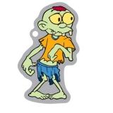 Ziggy the Zombie Travel Tag