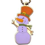 "Travel Tag Festive Collection ""Slushy the Snowman"""