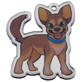 "Geopets Travel Tag ""Mani the Chihuahua"""