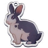 "Geopets Travel Tag ""Niblet the Rabbit"""