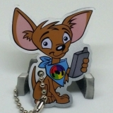 Charlie the PodCacher Chihuahua Travel Tag Cachekinz™