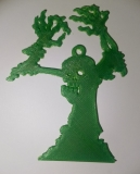 "Anhänger ""Zombie"" M grün"