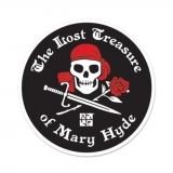 Sticker- The Lost Treasure of Mary Hyde