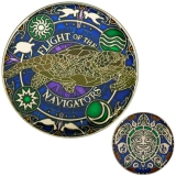 "Geocoin GCC ""Flight of the Navigators"""
