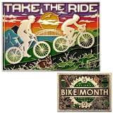 "Geocoin GCC ""National Bike Month"""