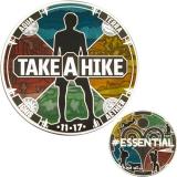 "Geocoin GCC ""Take a Hike"""