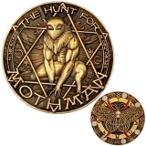 "Geocoin GCC ""The Mothman"""