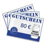 Geschenkgutschein 80€