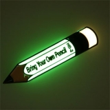 Glow In The Dark Bring Your Own Pencil