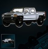 Hummer Racers - White