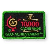 Geo-Achievement® Patch 10.000 Finds