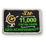Geo-Achievement® Patch 11.000 Finds