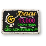 Geo-Achievement® Patch 13.000 Finds