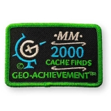 Geo-Achievement® Patch 2000 Finds