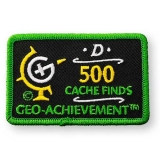 Geo-Achievement® Patch 500 Finds
