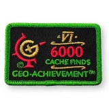 Geo-Achievement® Patch 6000 Finds