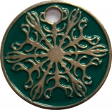 Pathtag Snowflake green