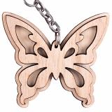 Schlüsselanhänger Schmetterling 1