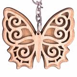 Schlüsselanhänger Schmetterling 3