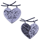 Two Hearts in Love Geocoin Set