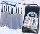 """Werkzeug """"Lock Picking"""", Set,klein"""