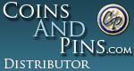 Official CoinsAndPins Distributor