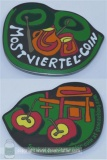 Mostviertel Geocoin RE - Nickle Black